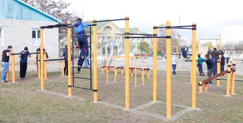 В сельских школах Дагестана создали условия для занятия спортом