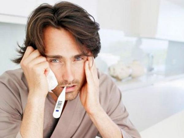 Прыщик на горле болит температура