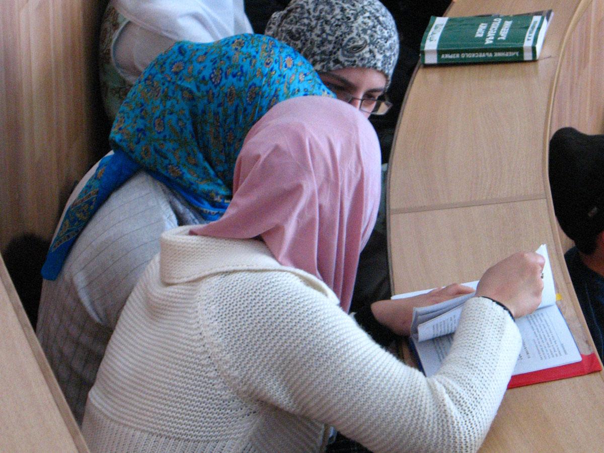Фото голых мусульманок в хиджабе 1 фотография