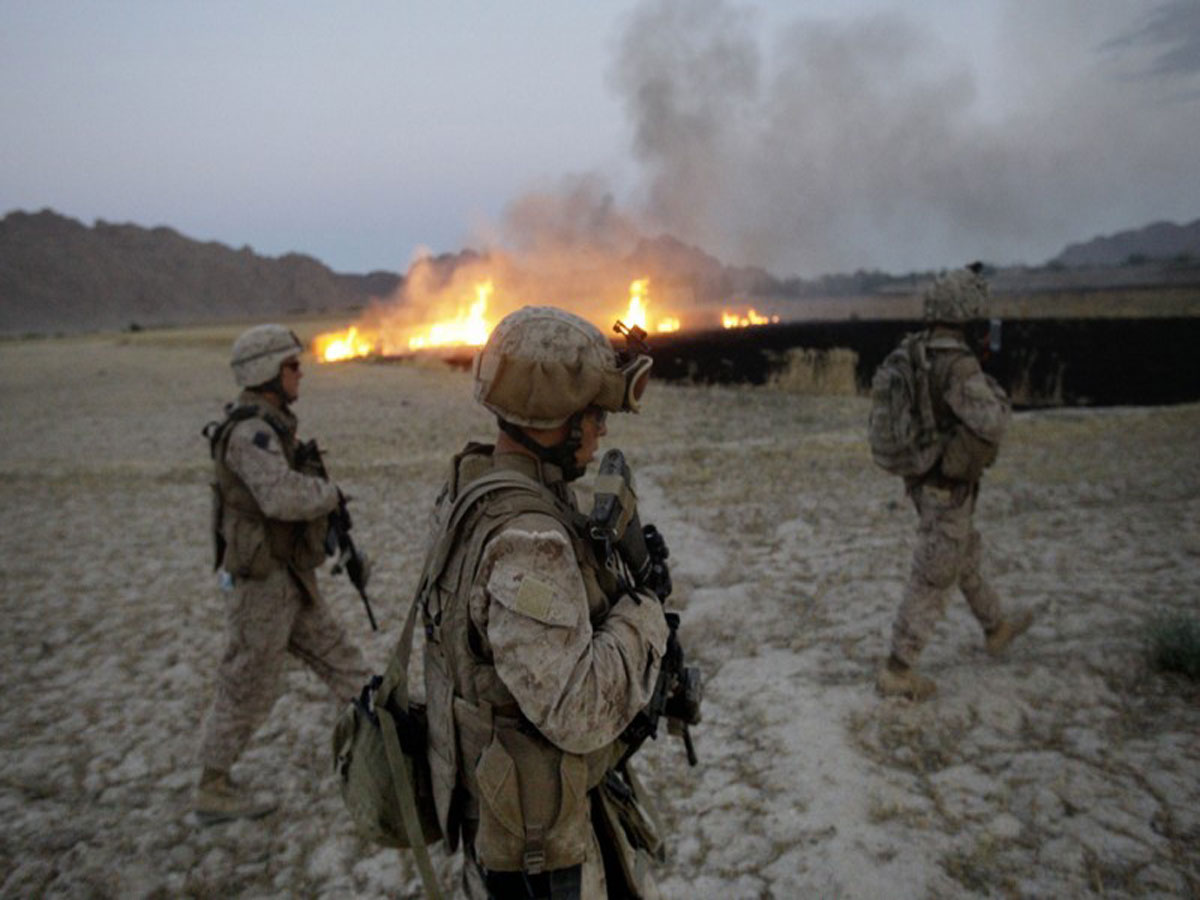 modern war in afghanistan